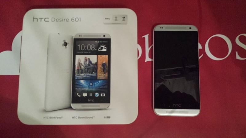 Confezione HTC Desire 601