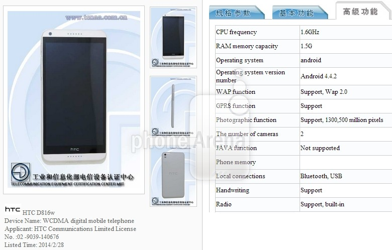 HTC-Desire-816-Android-442-KitKat