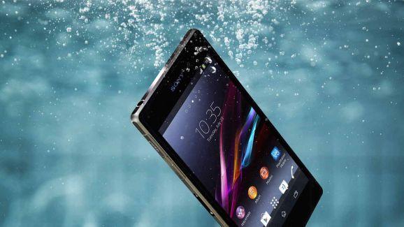 Sony Xperia z2 immerso