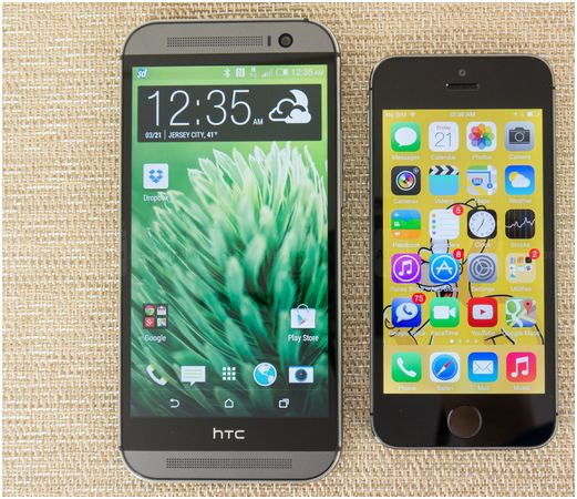 htc contro iphone 1