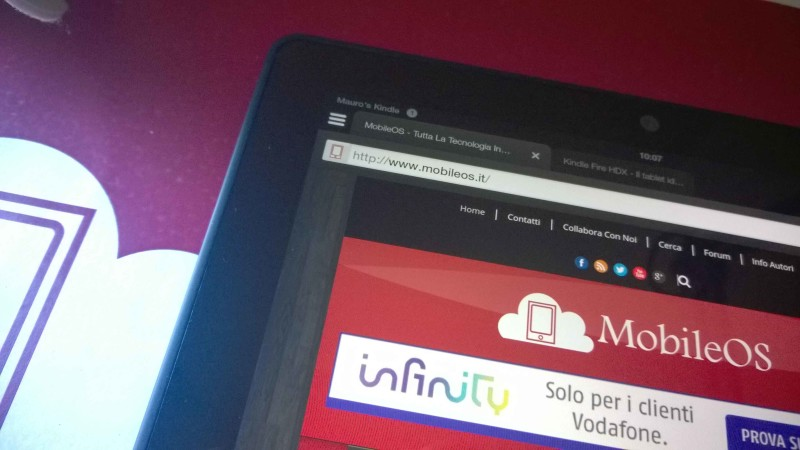 Recensione Amazon Kindle Fire HDX 003
