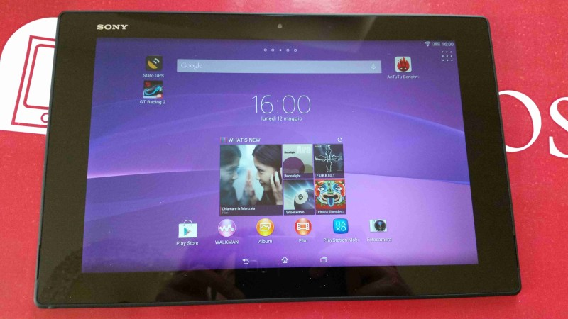 Recensione Sony Xperia Z2 Tablet 004