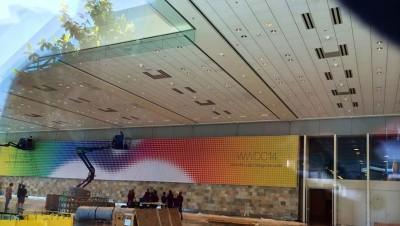 Apple WWDC 2014: il Moscone West è già pronto