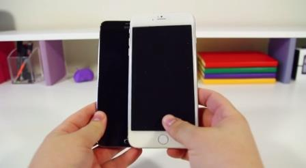 Apple iPhone 6 da 5.5 pollici VS Samsung Galaxy Note 3