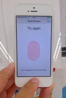 touch ID paypal