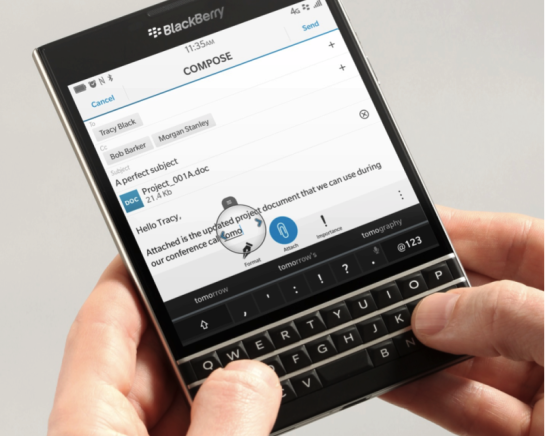 BlackBerry Passport (Google Image)