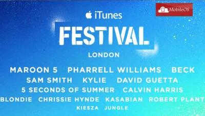 iTunes Festival 2014 - Torna il mese di concerto marchiato Apple