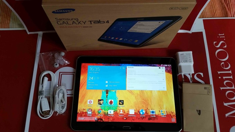 Recensione Samsung Galaxy Tab 4 10.1 WiFi 018
