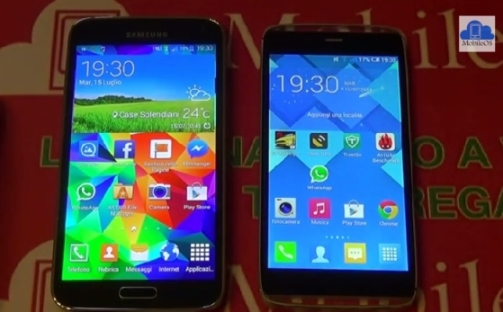 SAMSUNG GALAXY S5 VS ALCATEL IDOL ALPHA