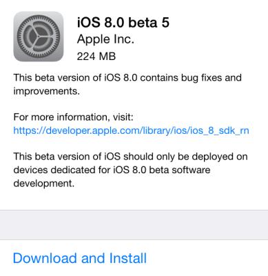 iOS-8-beta-5