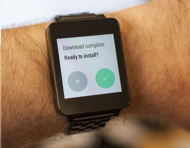 Aggiornamento LG G Watch