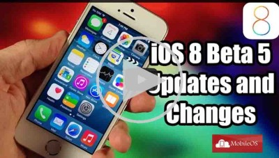iOS 8 beta 5: Un video ci mostra le novità!