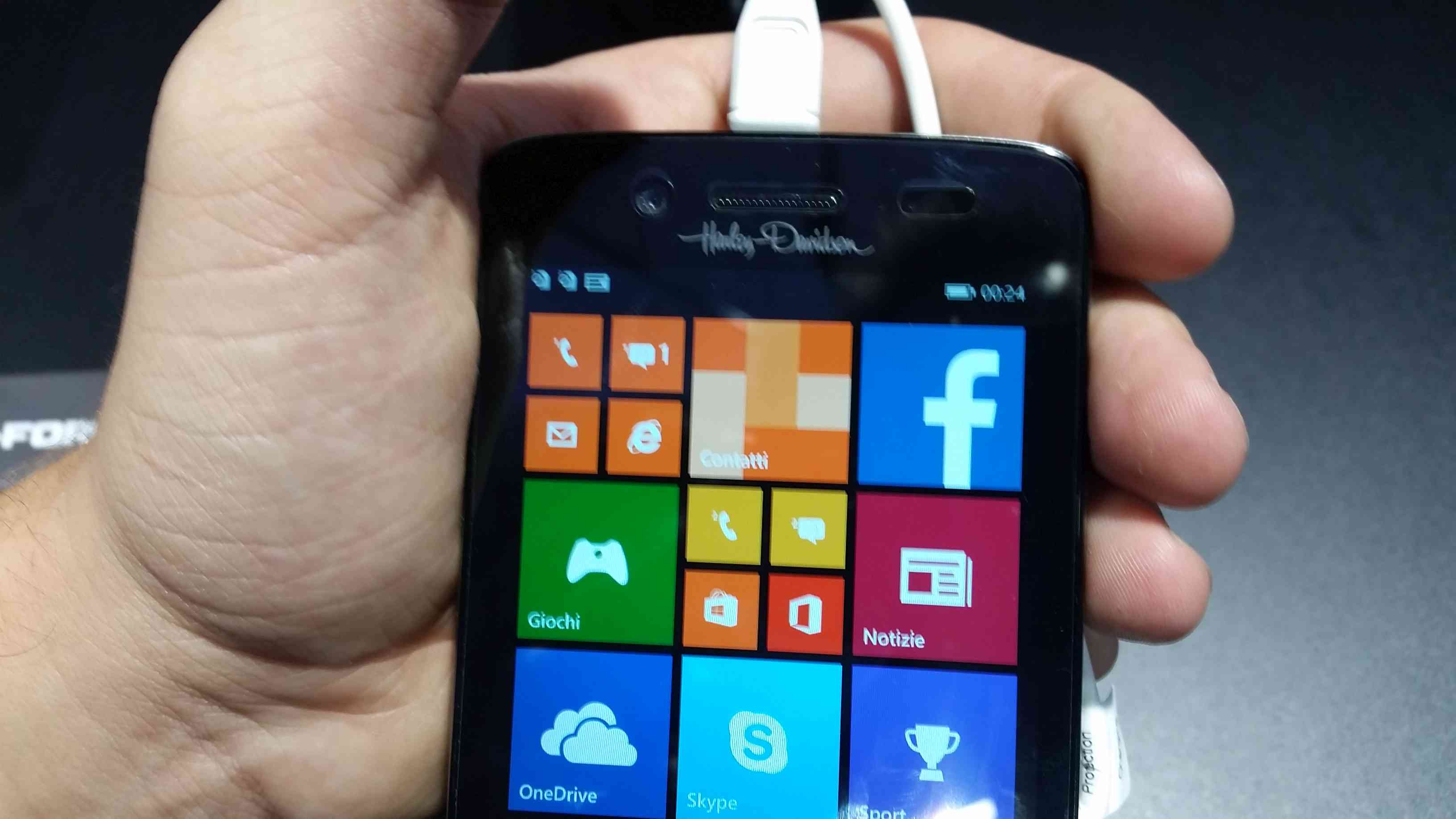 IFA 2014 NGM Harley - Davidson PRIMO WINDOWS PHONE 8.1 DUAL SIM IN ITALIA 001