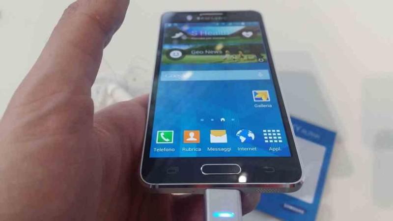 IFA 2014 Samsung Galaxy Alpha