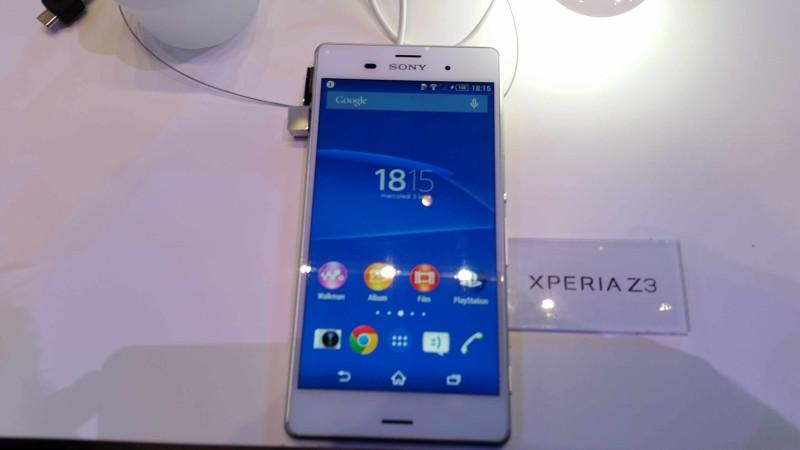 IFA 2014 Sony Xperia Z3 012