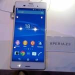 IFA 2014 Sony Xperia Z3 013