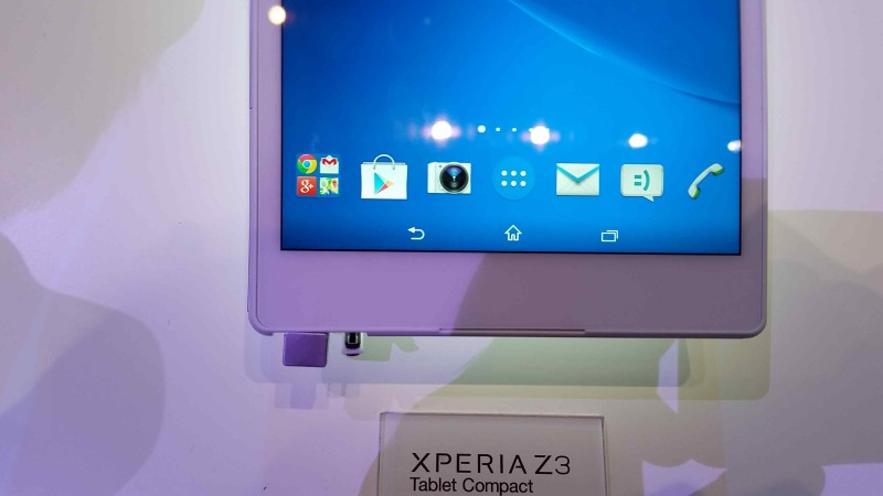 Sony Xperia Z3 Tablet Compact 001