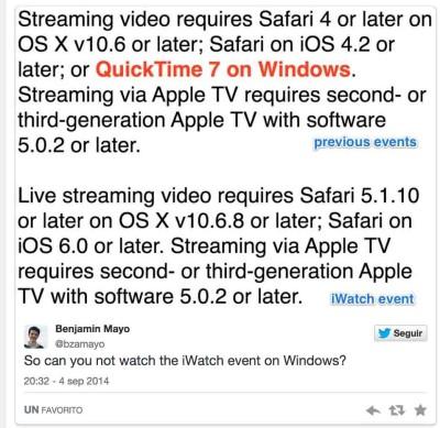 Ecco come guardare la presentazione iPhone 6 in live-streaming