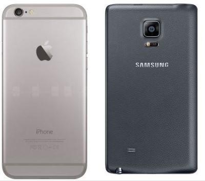 Apple iPhone 6 Plus VS Samsung Galaxy Note Edge (2)