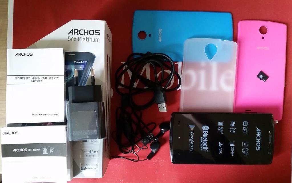 Unboxing Archos 50b Platinum: Eccolo dopo IFA!