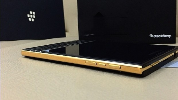 Gold Edition BlackBerry Passport