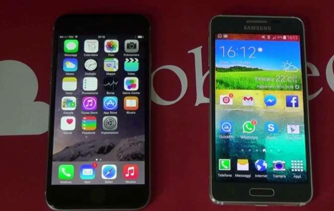 iPhone 6 VS Samsung Galaxy Alpha (2)