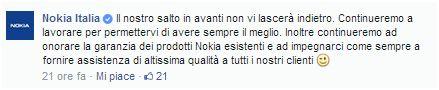 nokia italia commento