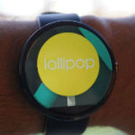 Android Wear Lollipop