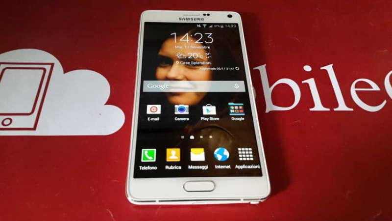 Recensione Samsung Galaxy Note 4 2014-11-11 14.23.27