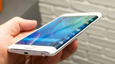 Samsung Galaxy note Edge.