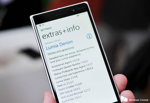 Aggiornamento Lumia Denim aggiornamento Lumia Denim