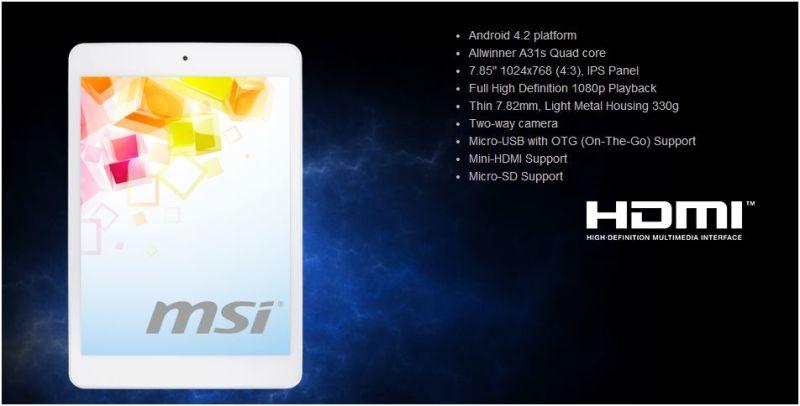 MSI tablet 1