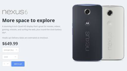 Nexus 6 - Motorola America miniatura