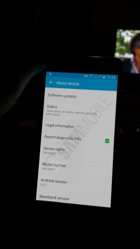 Aggiornamento Samsung Galaxy Alpha ad Android Lollipop 5.0.2