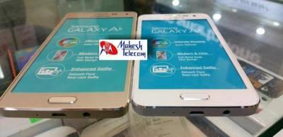 Samsung Galaxy A3 e A5 Samsung Galaxy A3 e A5