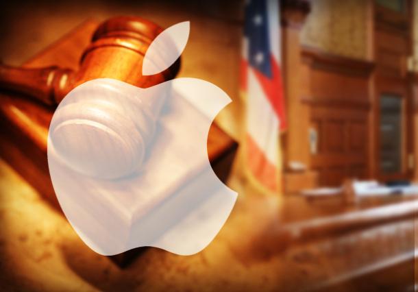 Apple in Tribunale