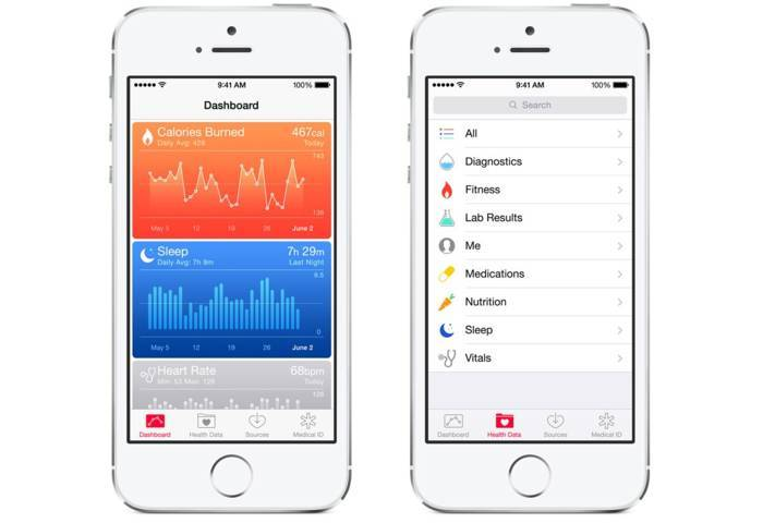 Health-hub iOS 8.3