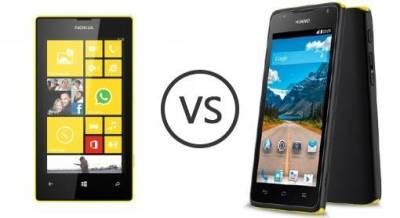 Nokia Lumia 530 vs Huawei Ascend Y530
