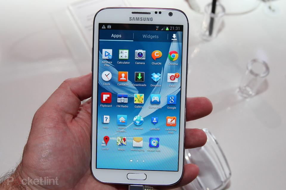 galaxynote2 windows 10 smartphone