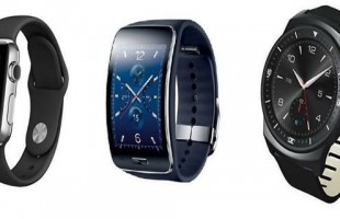 Apple Watch VS samsung gear s VS LG G Watch R smartwatch