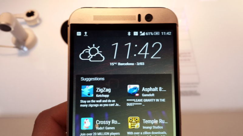 HTC One M9 Video Preview dal MWC 2015 20150303_114200