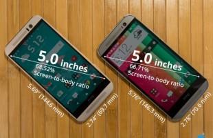 HTC One M9 vs HTC One M8 HTC One M9 vs HTC One M8
