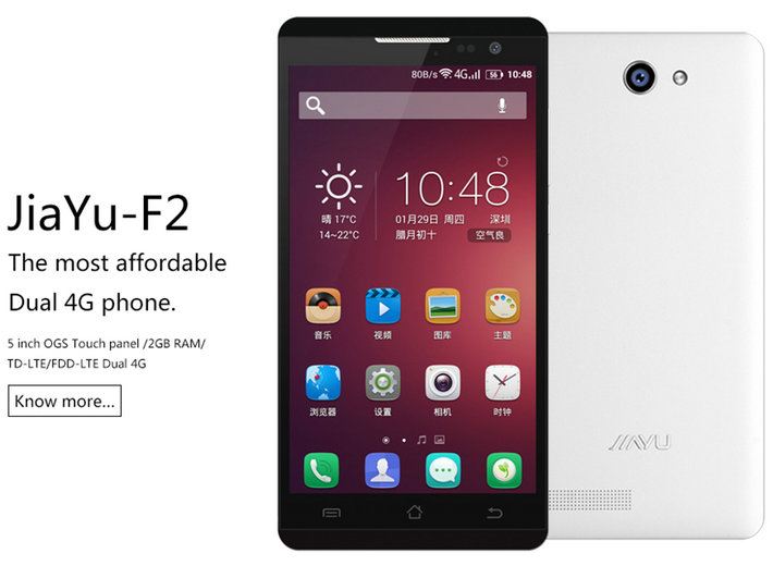 Jiayu F2 - Smartphone Android 4G