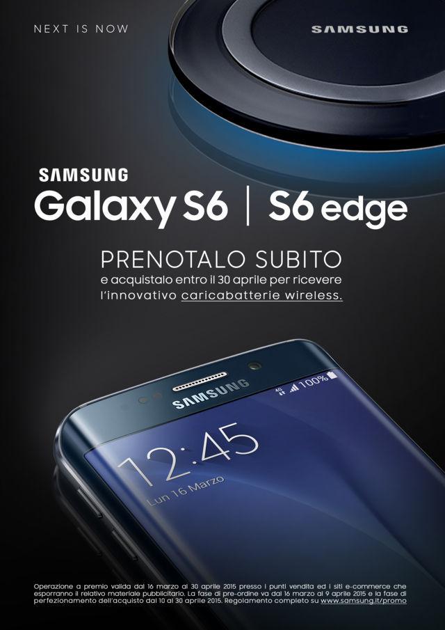 PREORDINE Samsung Galaxy S6 e S6 Edge