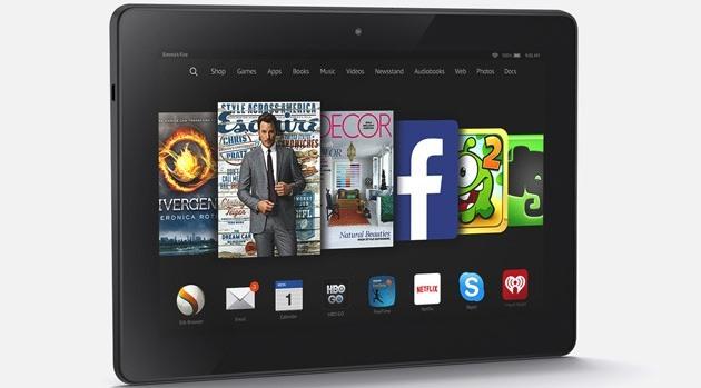 Video Unboxing Amazon Fire HDX 8.9