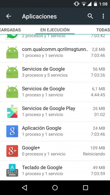 Android 5.1 Memory Leak