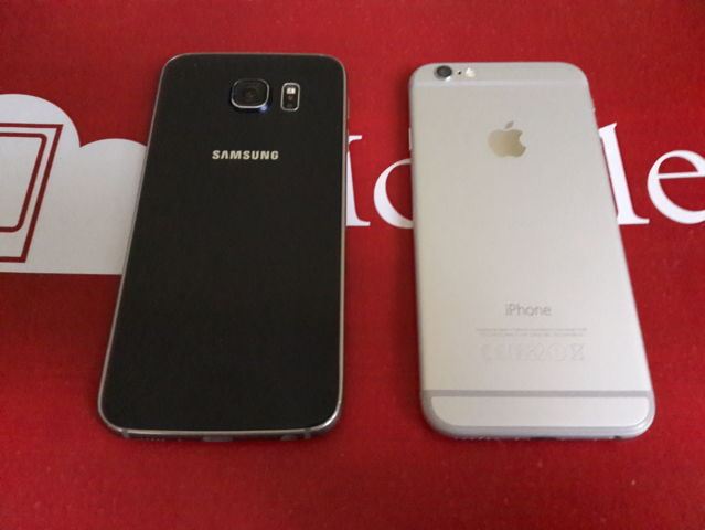 Samsung Galaxy S6 VS iPhone 6 (2)