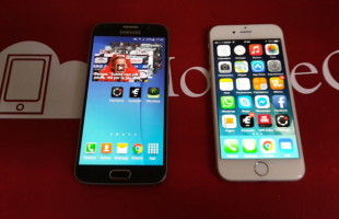 Samsung Galaxy S6 VS iPhone 6