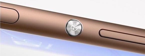 Uscita Sony Xperia Z4 Il Sensore di Impronte Digitali Incastonato nel Metallo