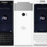 nuovi smartphone BlackBerry